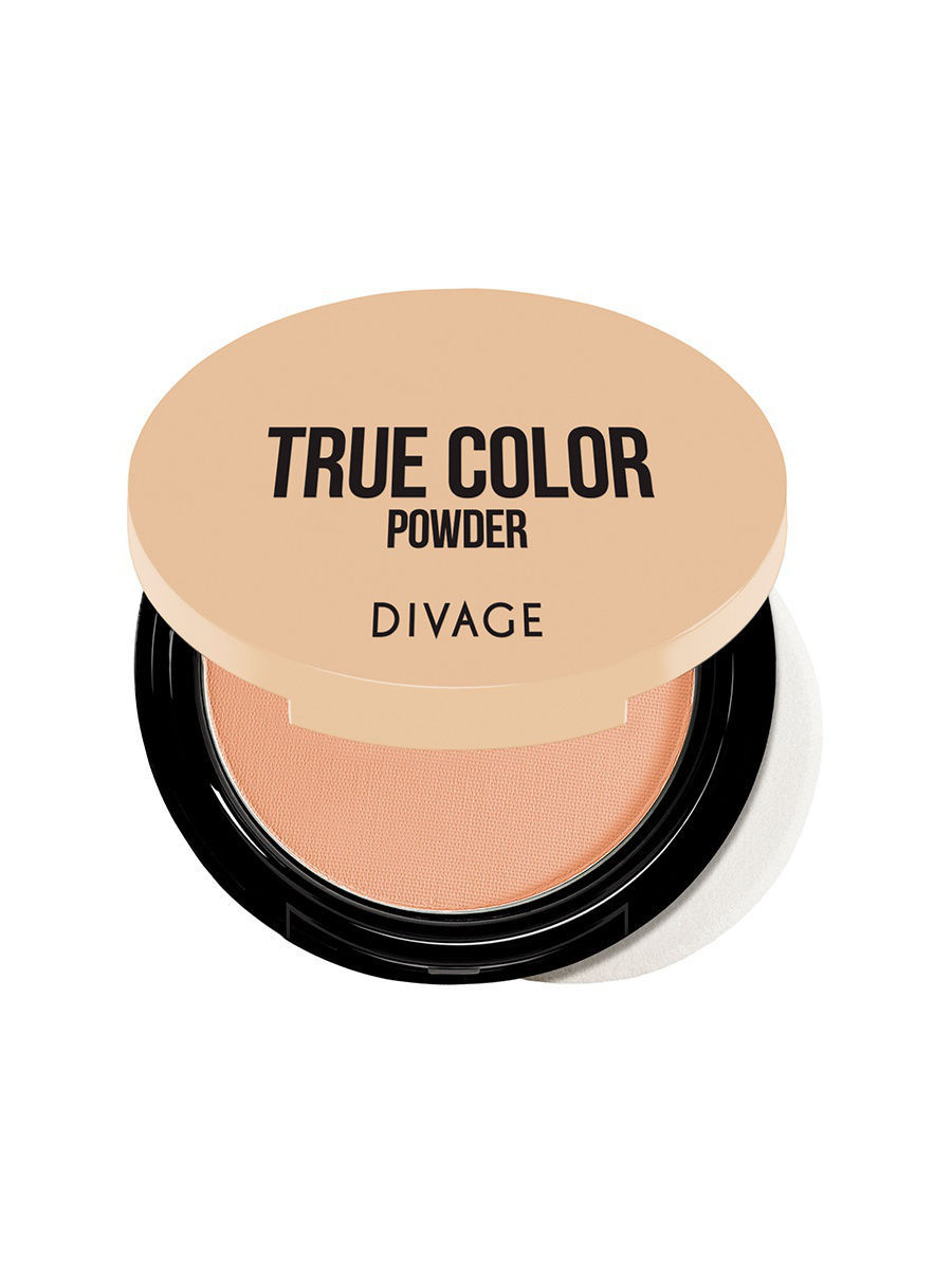 Пудры DIVAGE Пудра Компактная Compact Powder True Color - № 05 пудры isadora isadora пудра компактная velvet touch compact powder 12 10 г