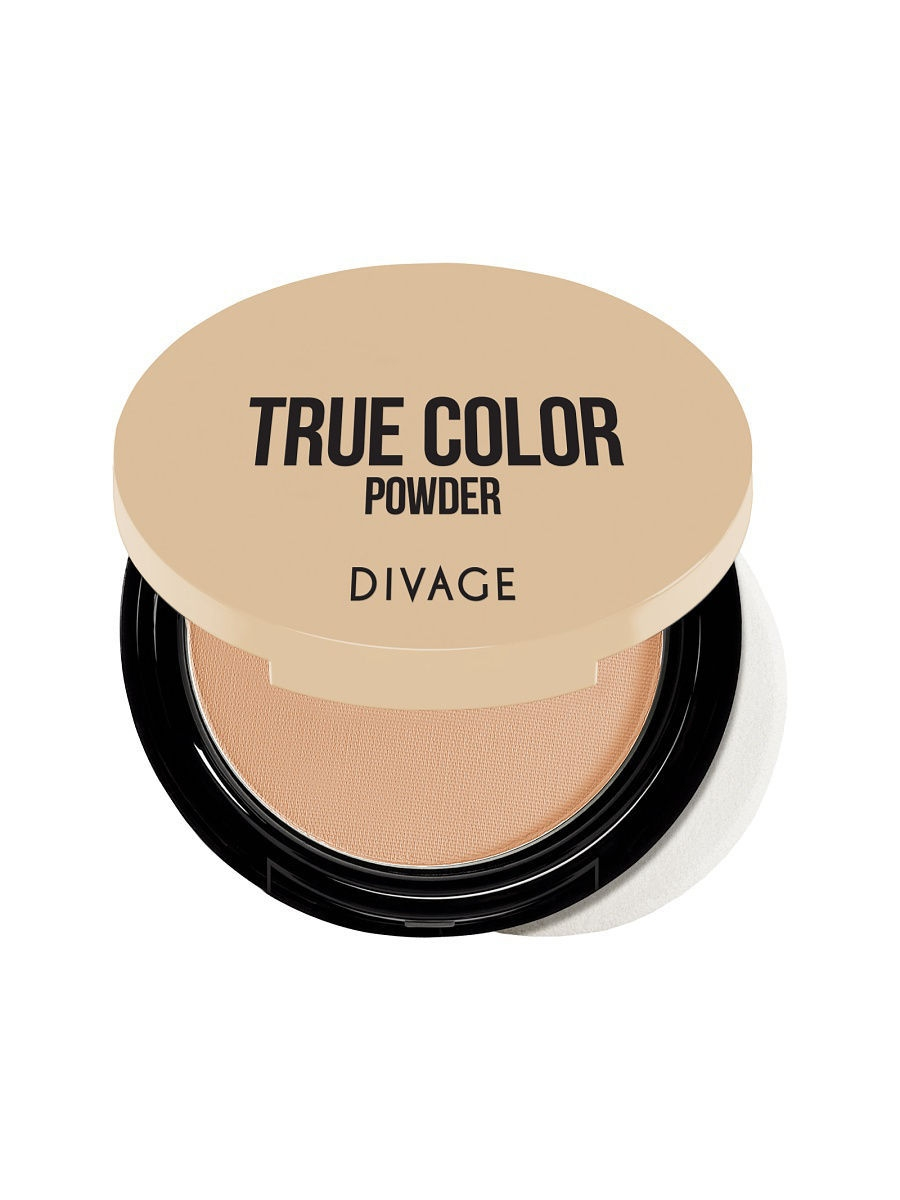 Пудры DIVAGE Пудра Компактная Compact Powder True Color - № 06 пудры isadora isadora пудра компактная velvet touch compact powder 12 10 г