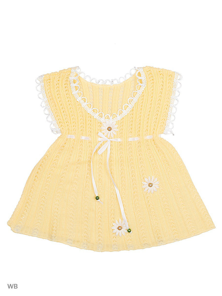 Платье Babycollection 17CR-276/d/желтый