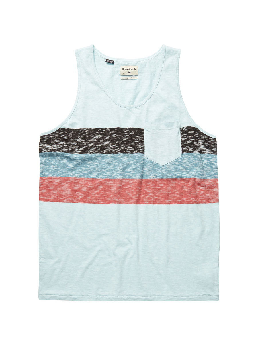 Футболка BILLABONG Майка MOMENTUM TANK (SS17) футболка billabong футболка haze tee ss ss17