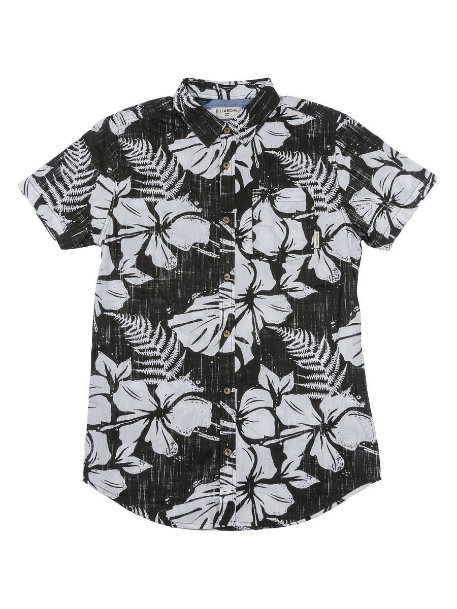 Рубашки BILLABONG Рубашка ALL DAY FLORAL SS (SS17) рубашка billabong all day oxford ls sh