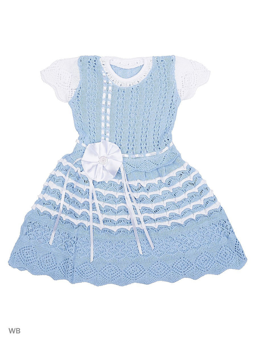 Платье Babycollection 4HS-264/d/голубой