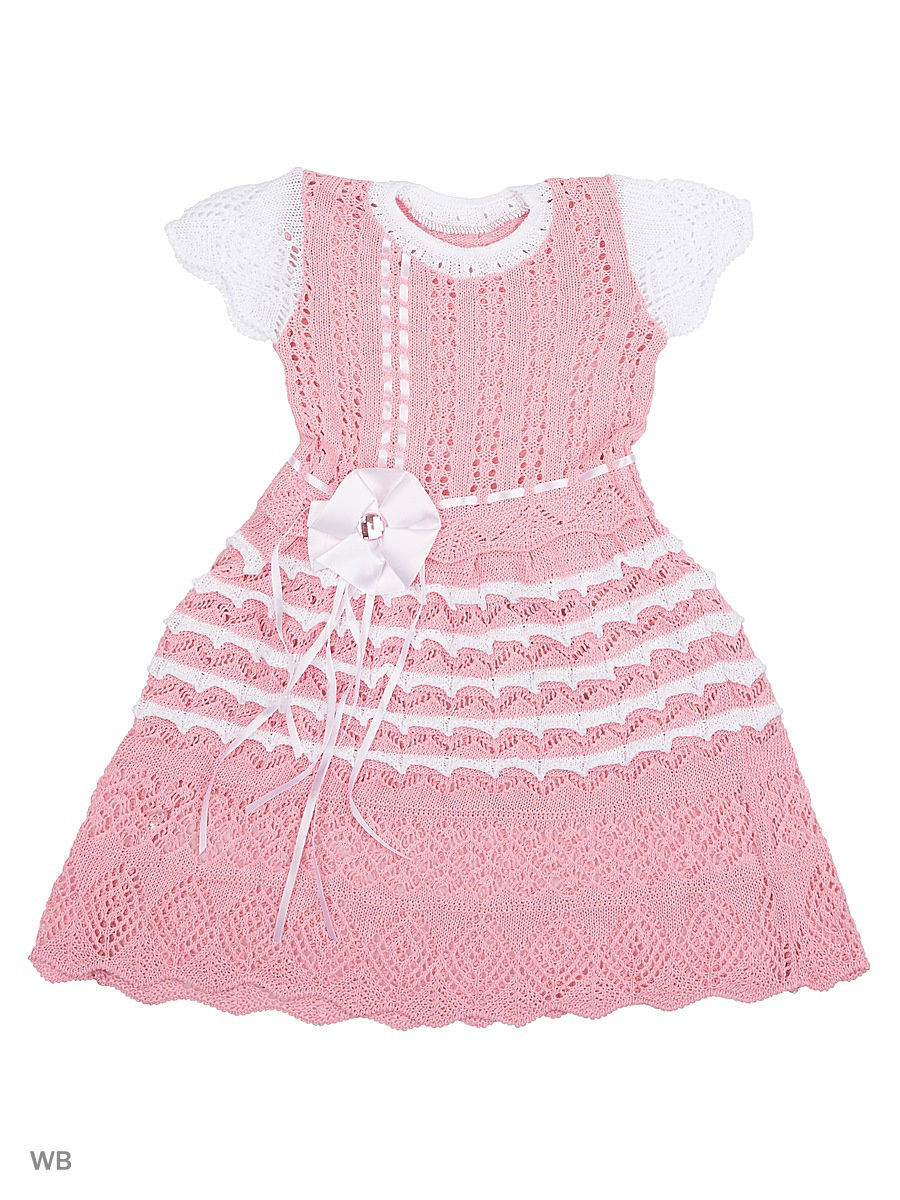 Платье Babycollection 4HS-264/d/розовый