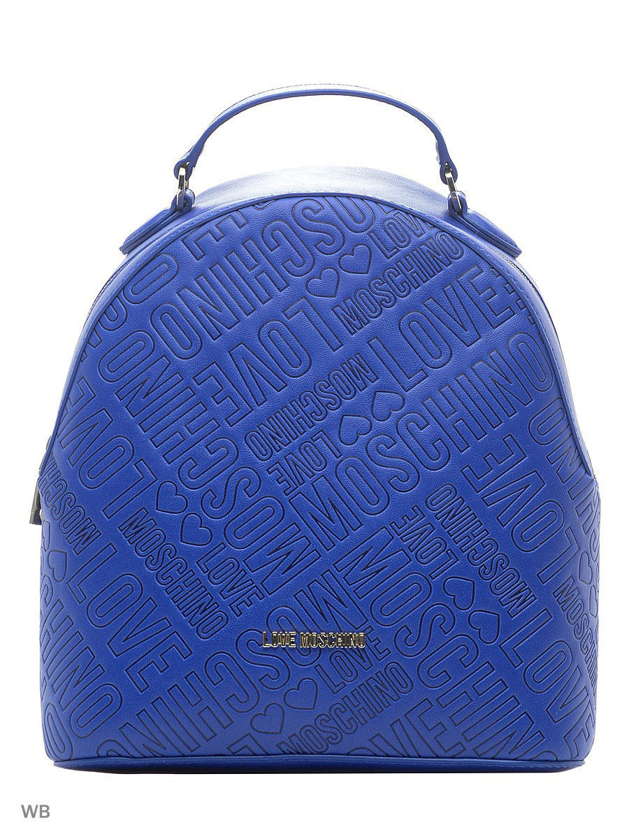 Большая сумка Love Moschino JC4019PP14LB0750/BLUE