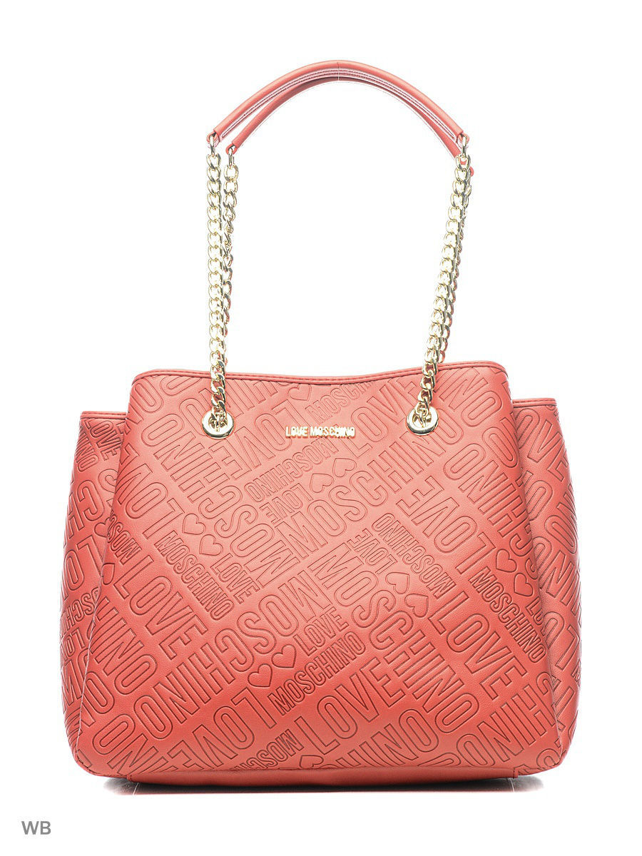 Большая сумка Love Moschino JC4020PP14LB0500/RED