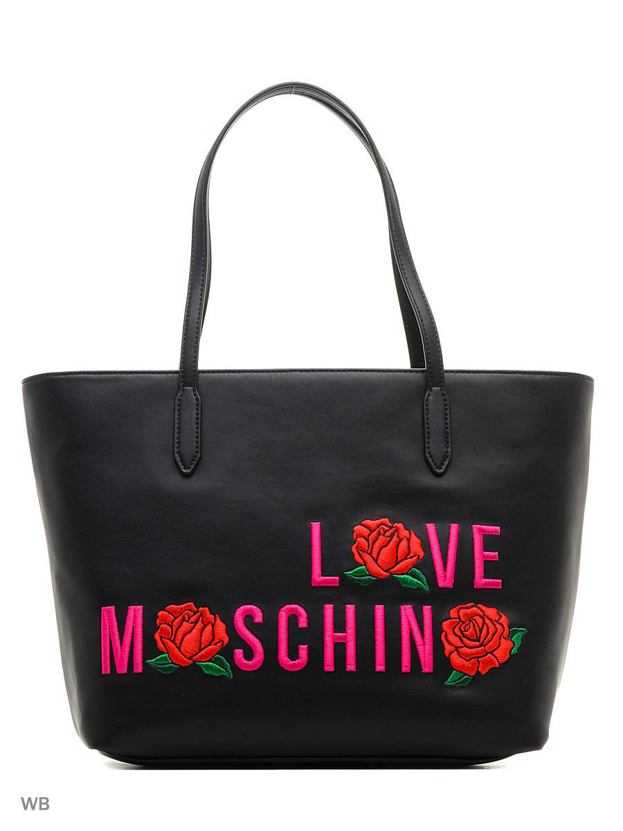 Большая сумка Love Moschino JC4121PP14LS0000/BLACK