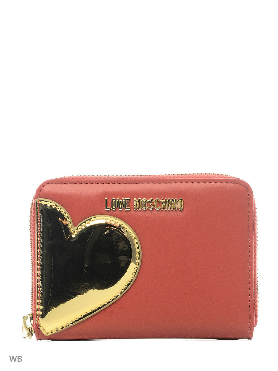 Кошелек Love Moschino JC5512PP14LD250A/BLACK+SILVER