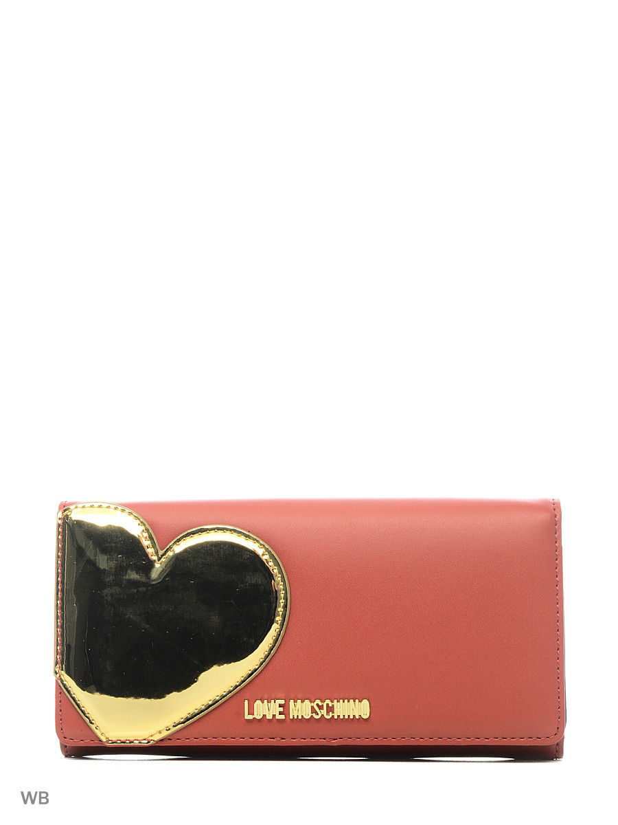 Кошелек Love Moschino JC5514PP14LD250A/RED+GOLD