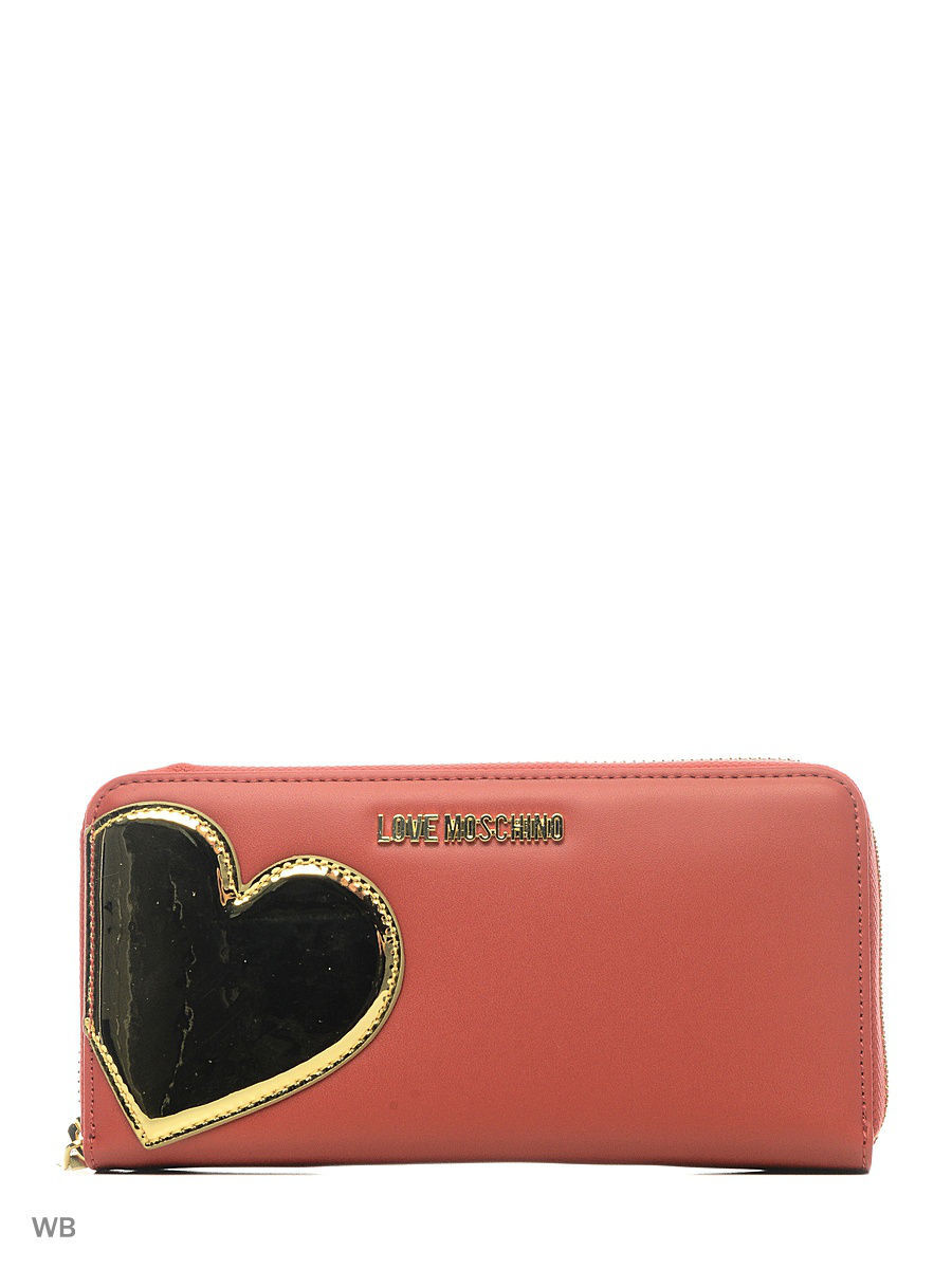 Кошелек Love Moschino JC5515PP14LD250A/BLACK+SILVER