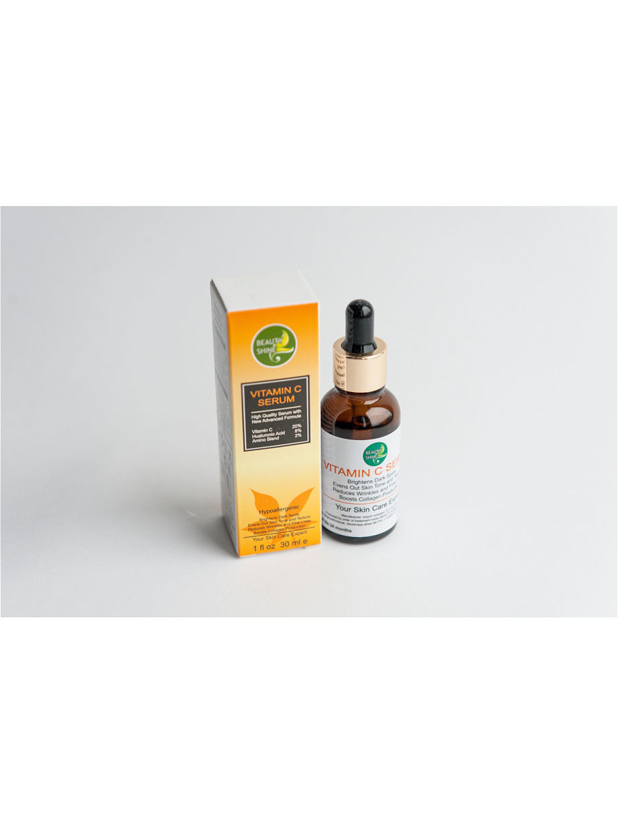 Сыворотки BEAUTY SHINE Сыворотка BEAUTY SHINE Vitamin C Serum, 30 мл мезороллер beauty shine