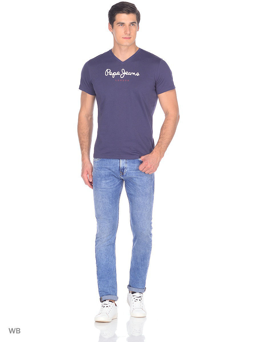 Футболка Pepe Jeans London PM501389/973ODISSEYGREY