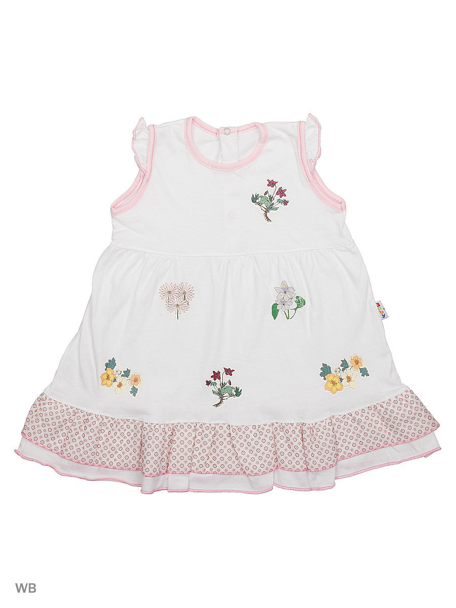 Платье Babycollection 21Baby-275/30/d/белый