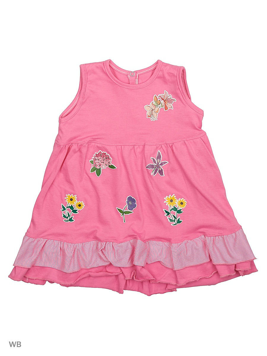 Платье Babycollection 21Baby-275/5/d/розовый