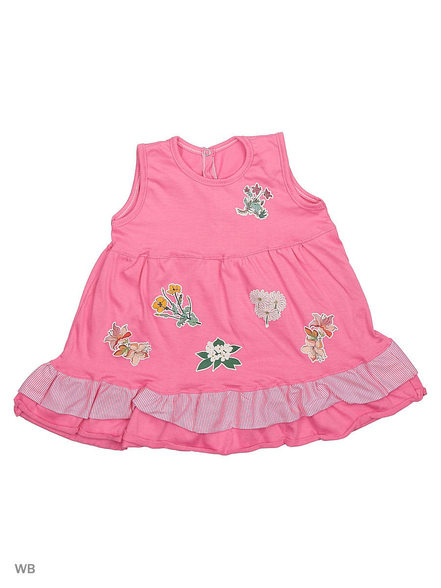 Платье Babycollection 21Baby-275/6/d/розовый