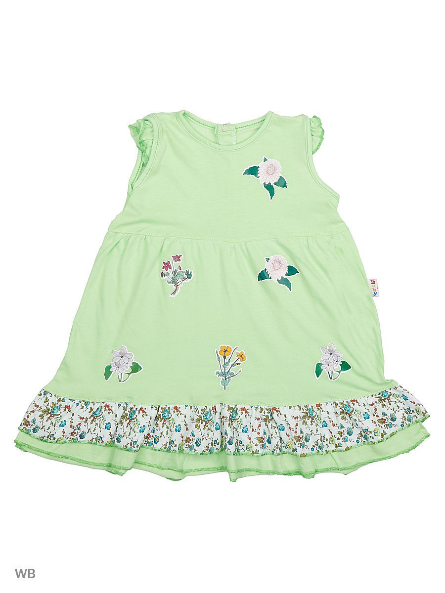 Платье Babycollection 21Baby-275/60/d/салатовый