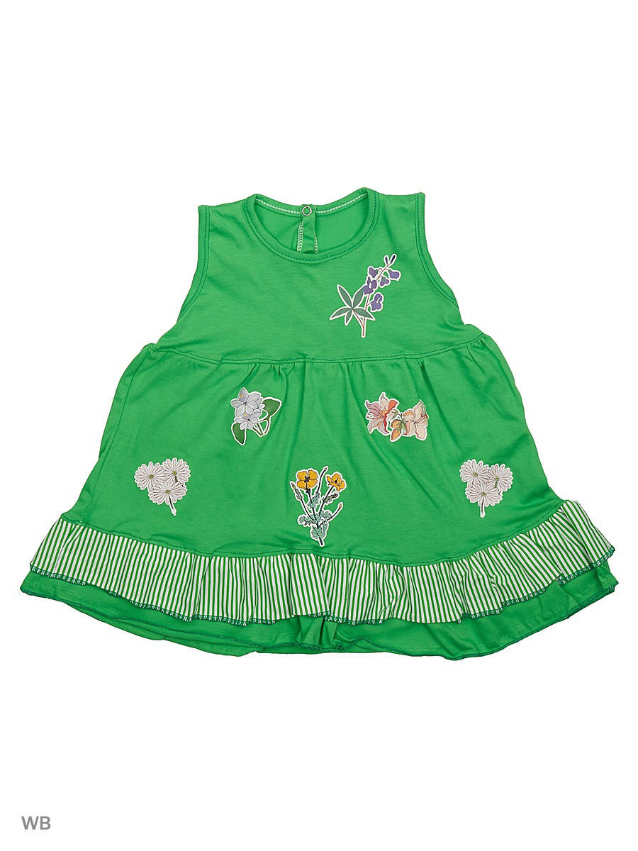Платье Babycollection 21Baby-275/d/зеленый