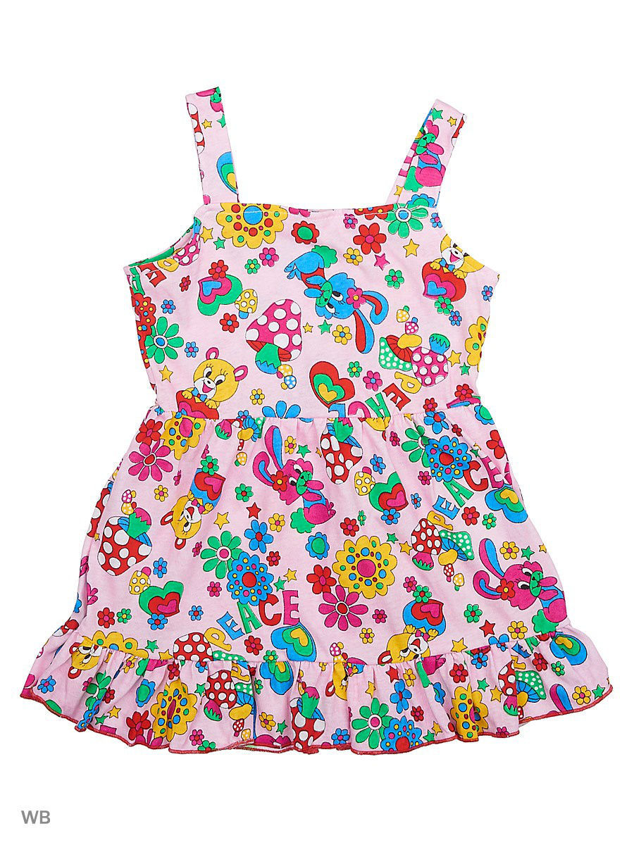 Платье Babycollection 21Baby-631/1/d/розовый