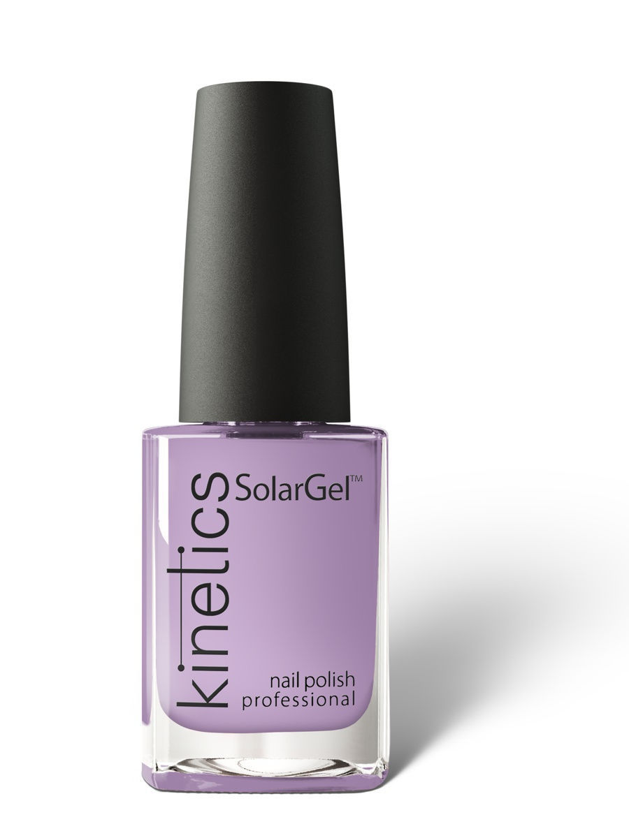 Лаки для ногтей Kinetics Профессиональный лак SolarGel Polish 15 мл, тон № 113 Mysterious Cloud mysterious light