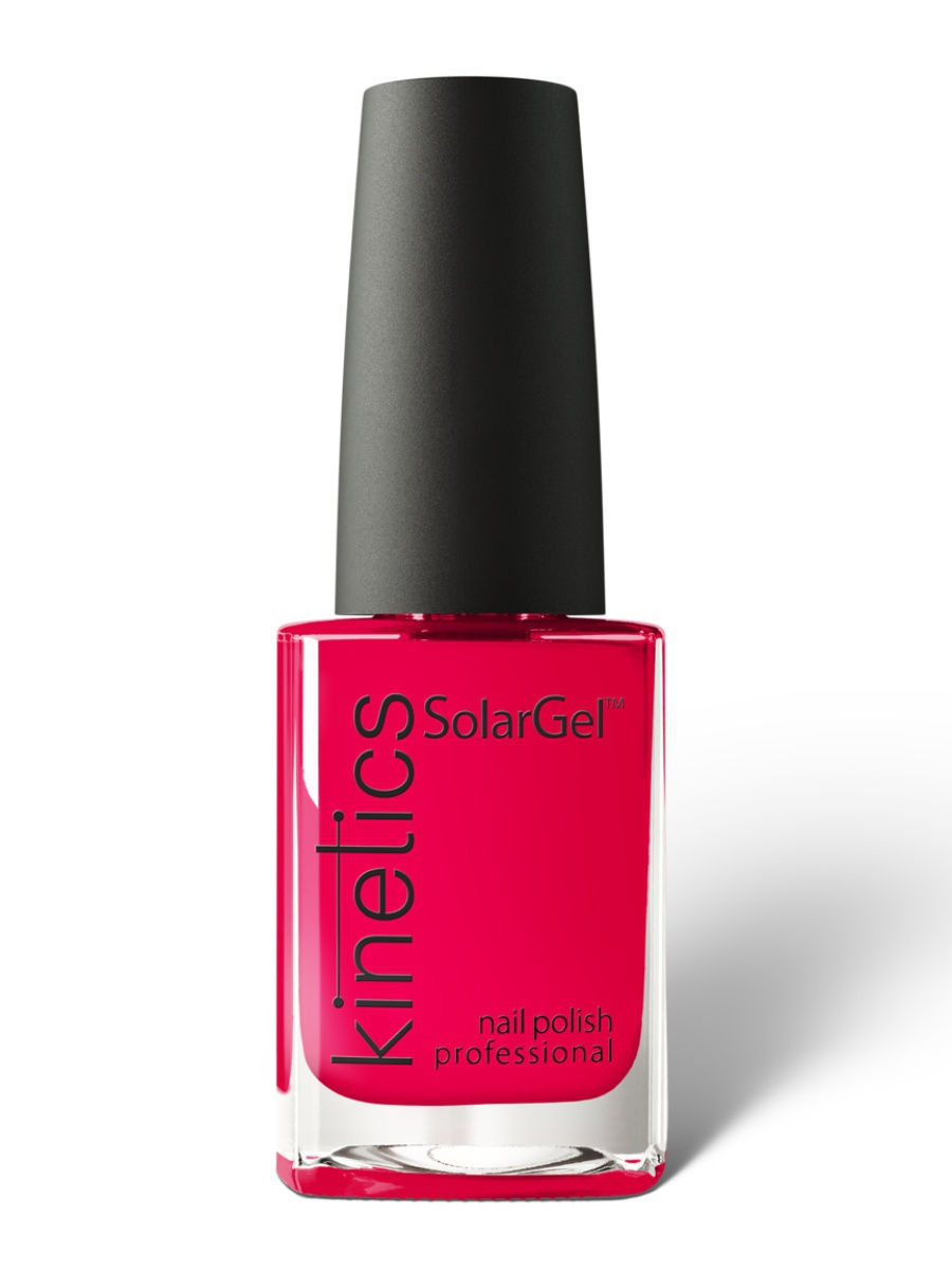 Лаки для ногтей Kinetics Профессиональный лак SolarGel Polish 15 мл, тон № 343 Power of Fire