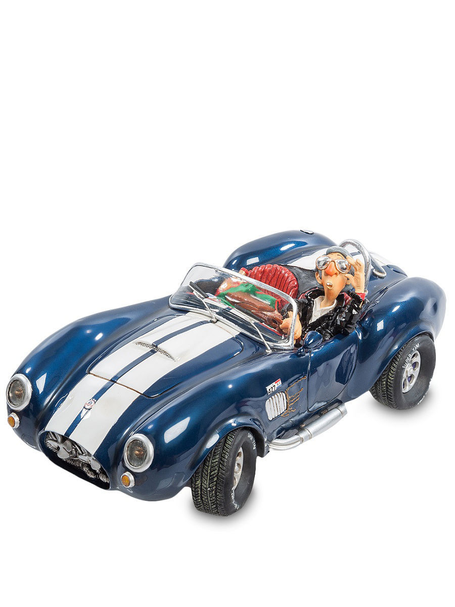 Статуэтки Forchino Статуэтка ''Shelby Cobra 427 S/C'' fo 85500 статуэтка повар the cook forchino 783858