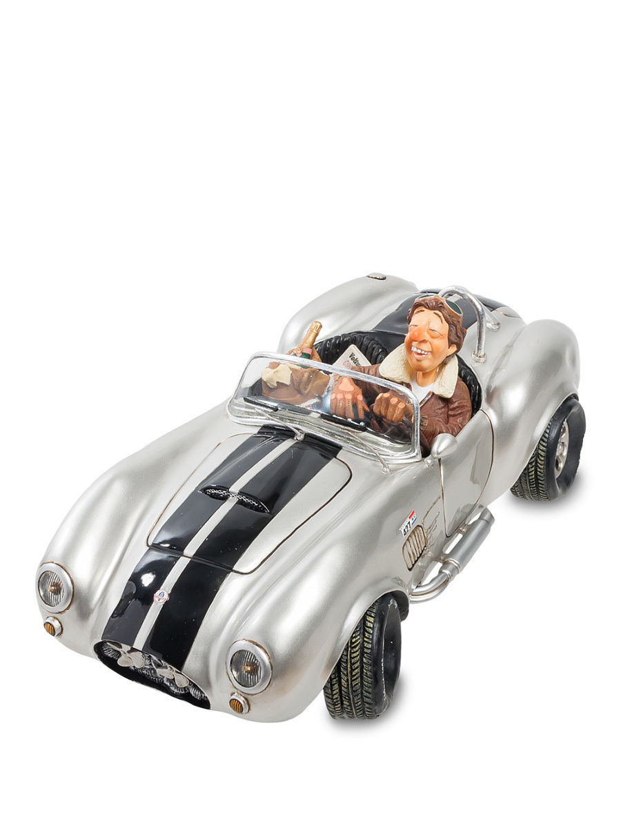 Статуэтки Forchino Статуэтка ''Shelby Cobra 427 SC Silver'' fo 85500 статуэтка повар the cook forchino 783858