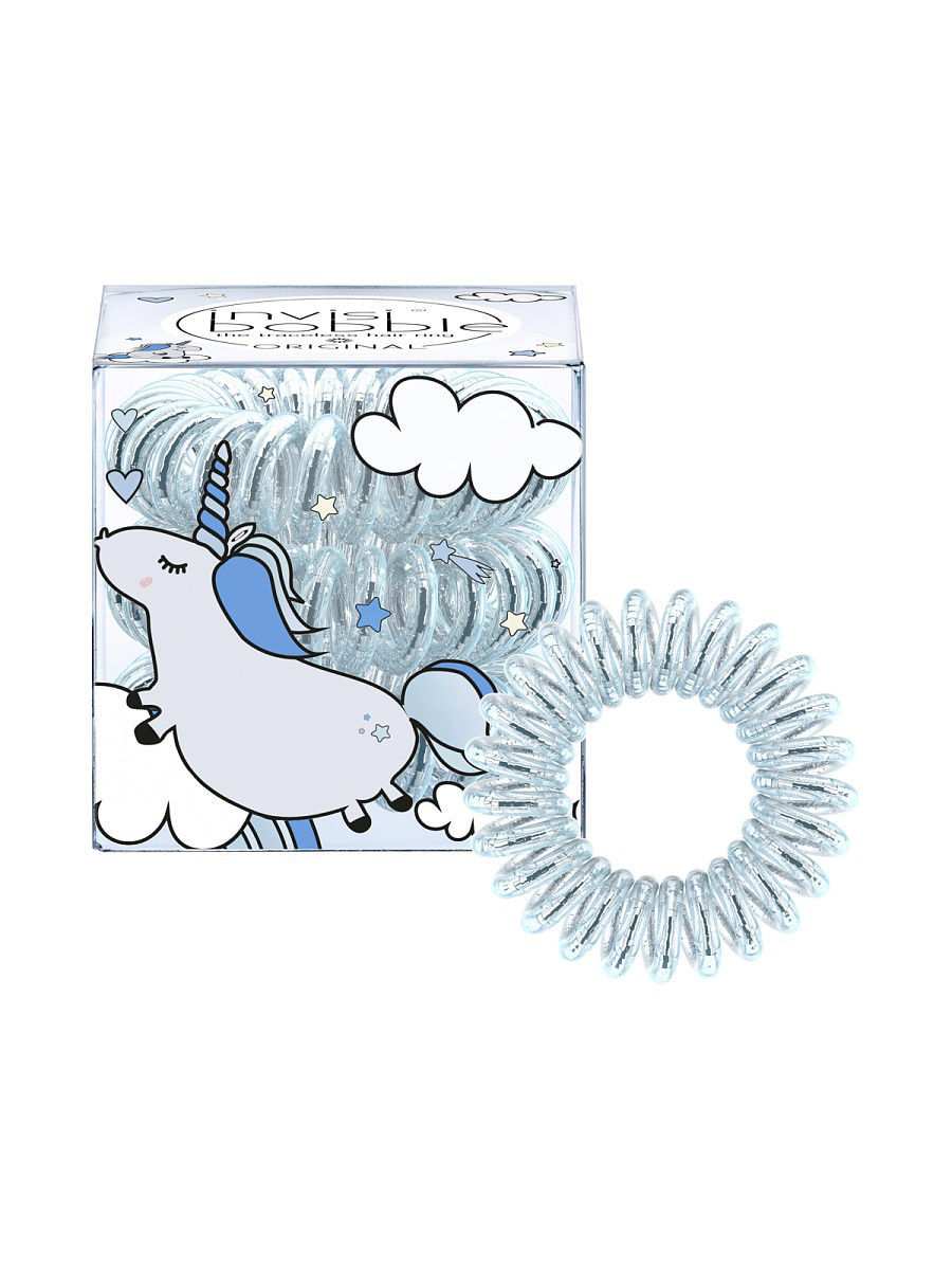 Резинки Invisibobble Резинка-браслет для волос invisibobble ORIGINAL Unicorn Henry invisibobble original something blue резинка браслет для волос original something blue резинка браслет для волос