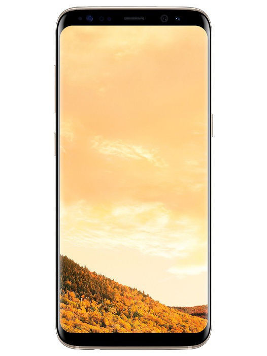 Смартфоны Samsung Смартфон Samsung Galaxy S8 (SM-G950FZDDSER), желтый топаз new d19 sound activated 5w 48 led rgb crystal magic sunflower light white