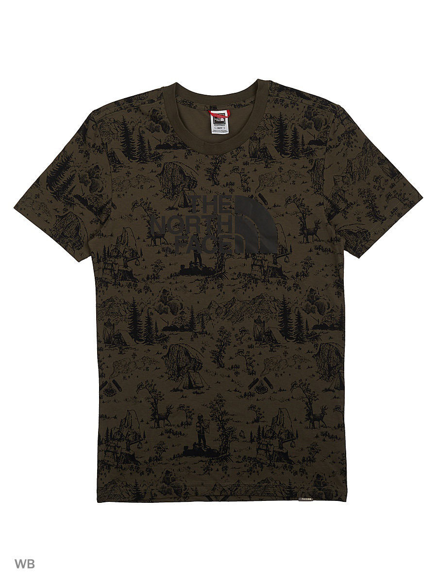 Футболка The North Face Футболка S/S EASY футболка easy tee the north face
