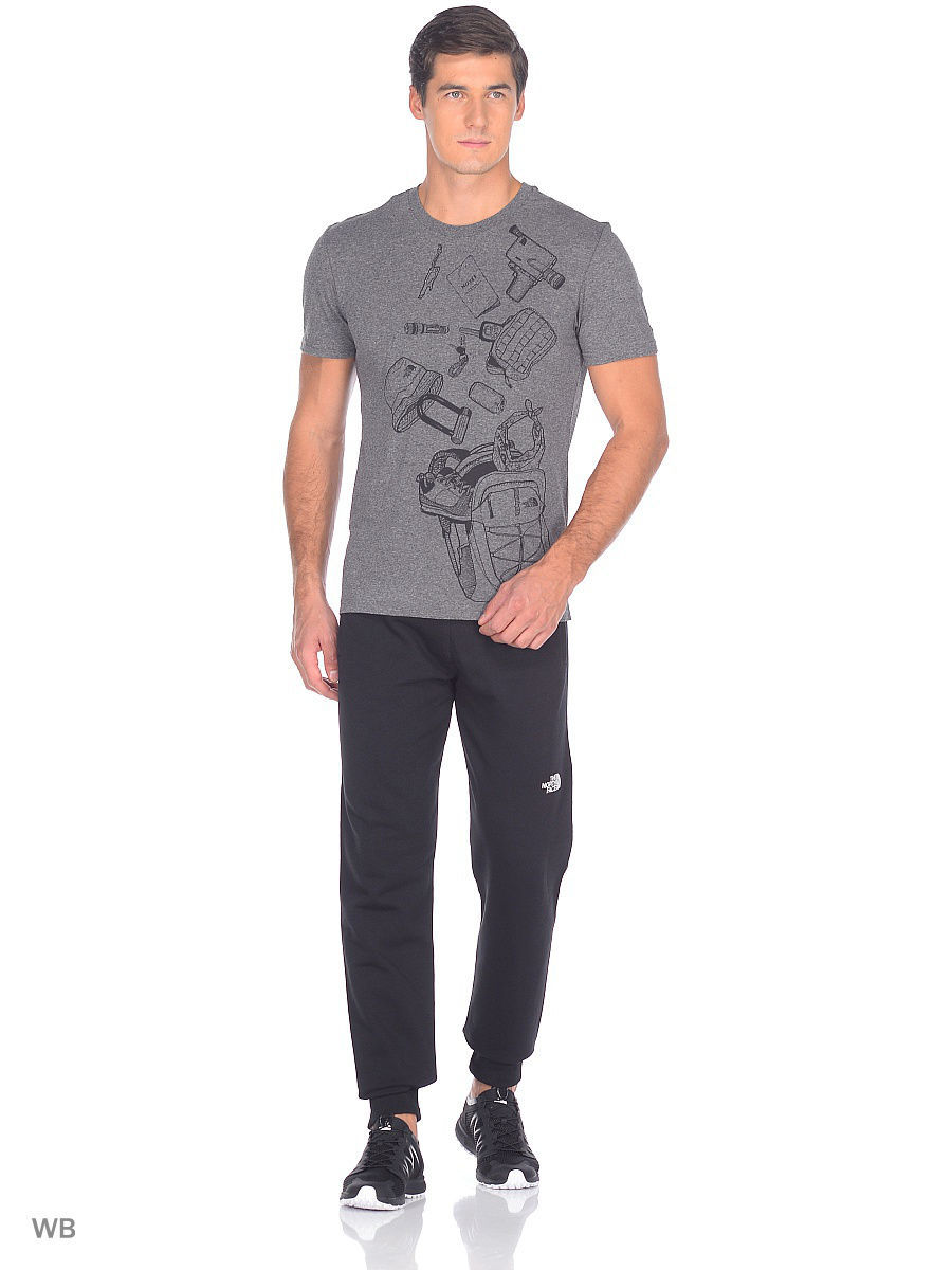 Футболка The North Face Футболка S/S EXP KIT футболка easy tee the north face