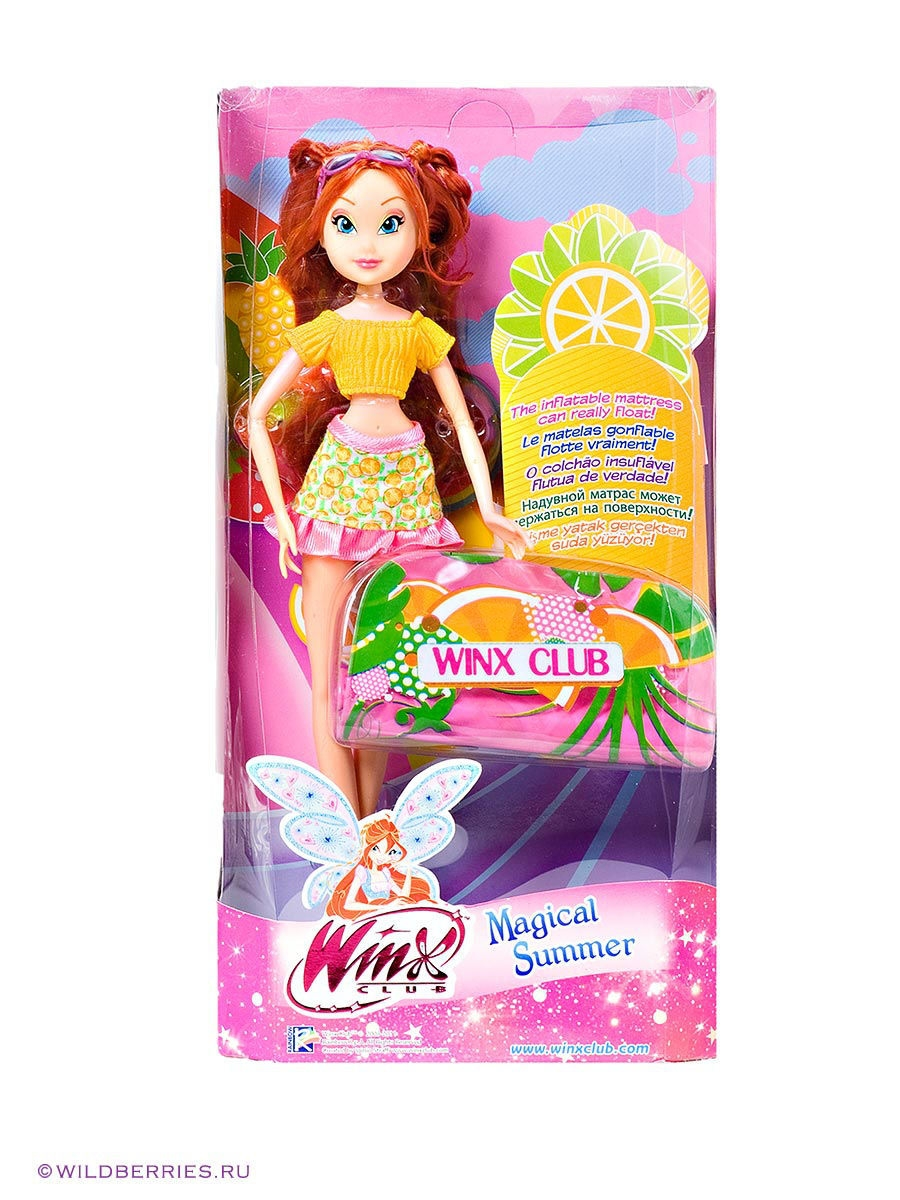 Куклы WINX Кукла Winx Club Frutti bloom кукла winx club диско блум