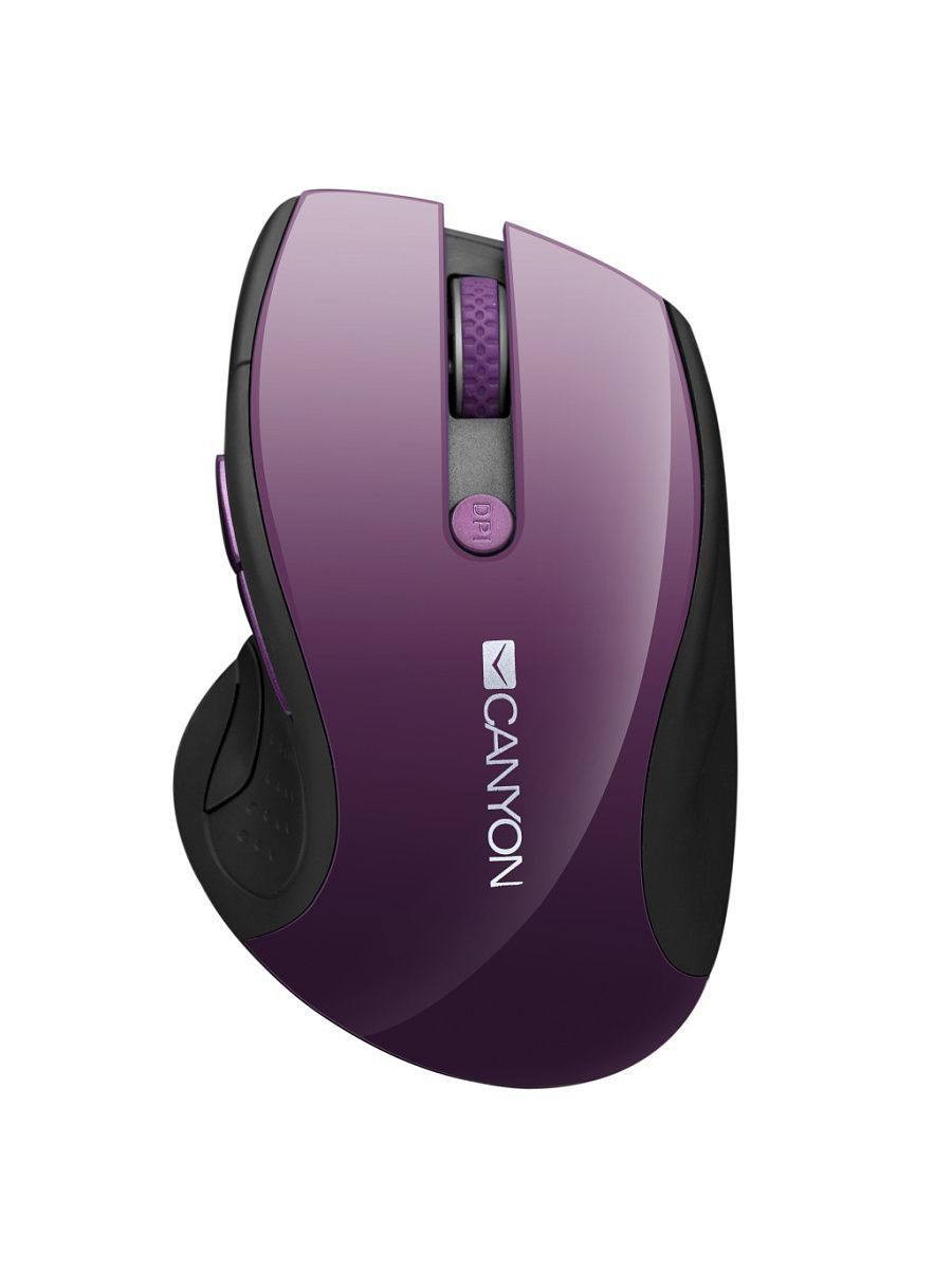 Мыши CANYON Беспроводная мышь CANYON CNS-CMSW01P, Purple клавиатура canyon cns hkb4 usb