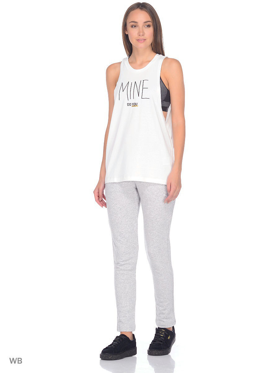 Топ PUMA Топ топ puma топ essential layer tank graphic