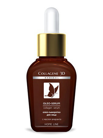 Сыворотки Medical Collagene 3D Сыворотка для лица OLEO SERUM 30мл пилинг medical collagene 3d гель пилинг для лица энзимный anti acne