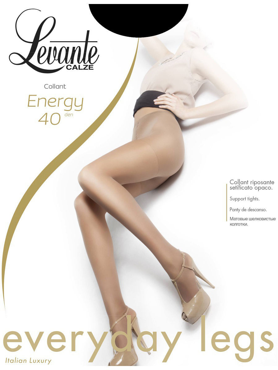 Колготки LEVANTE ENERGY40/nero