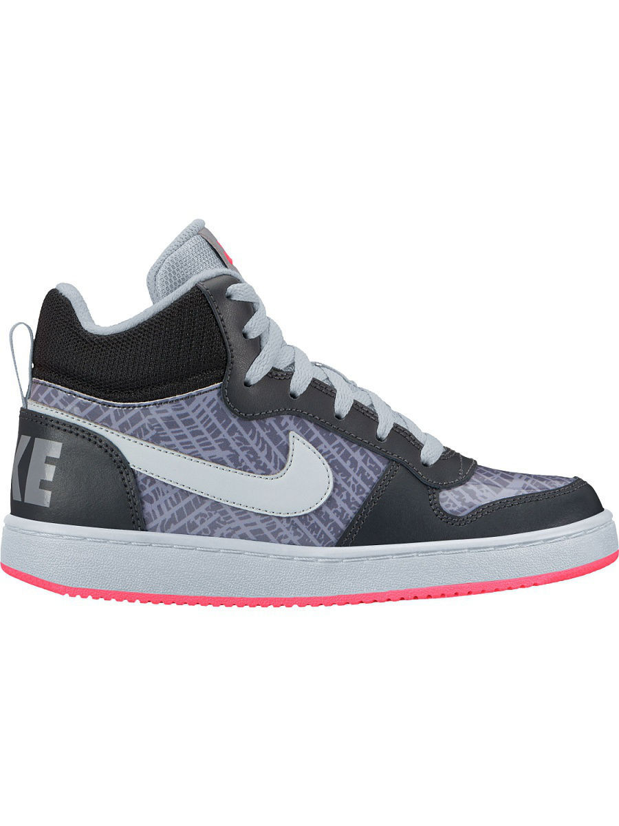 Кеды Nike Кеды NIKE COURT BOROUGH MID PRNT GS nike court borough mid nike