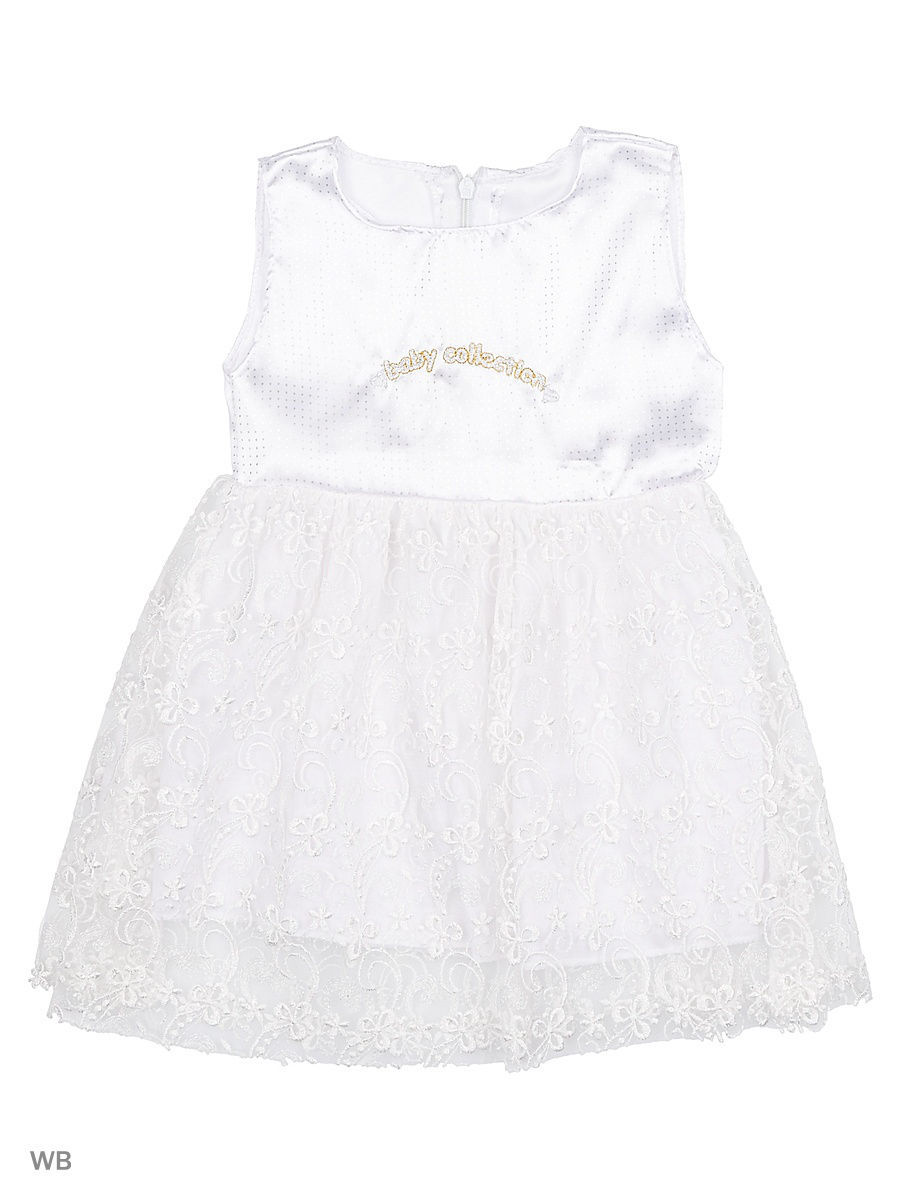 Платье Babycollection 21Baby-450/5/d/белый