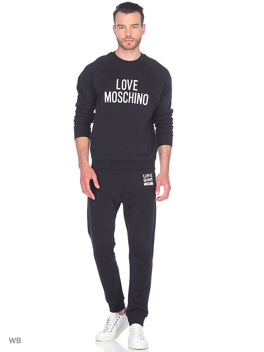 Толстовка Love Moschino M649401M3757C74/black