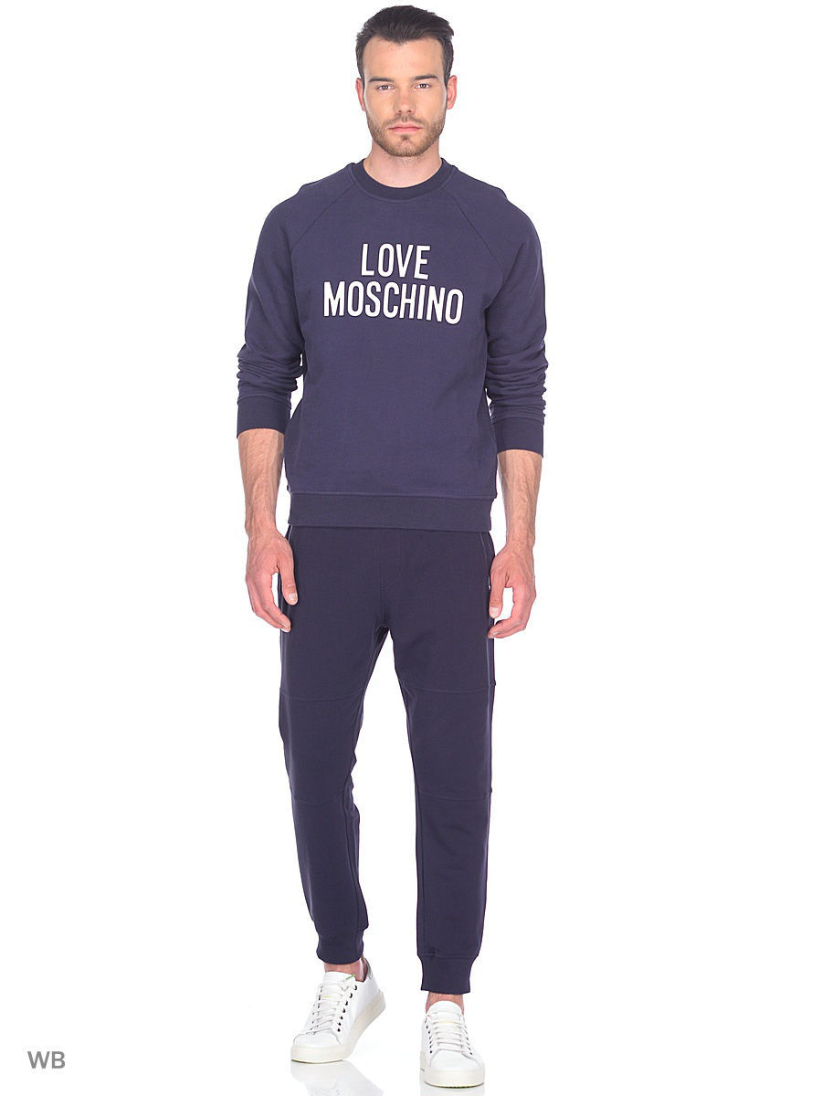 Толстовка Love Moschino M649401M3757Y78/BLUE
