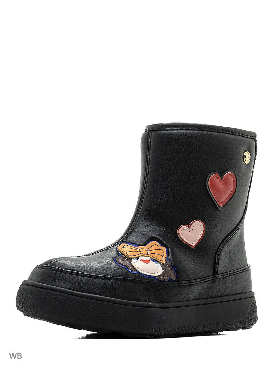 Полусапоги Love Moschino JA24063G14IF0000/black+embr.