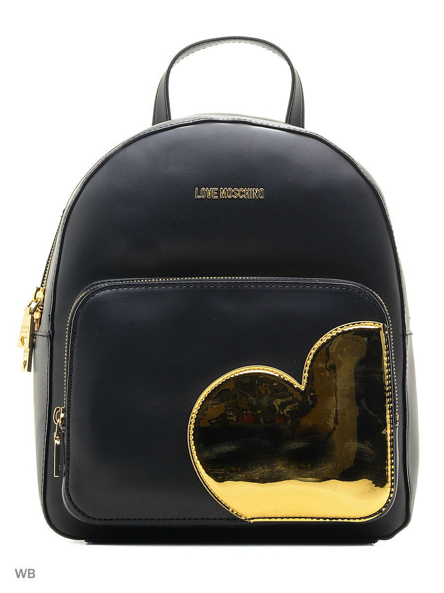 Большая сумка Love Moschino JC4035PP14LD200B/black+gold
