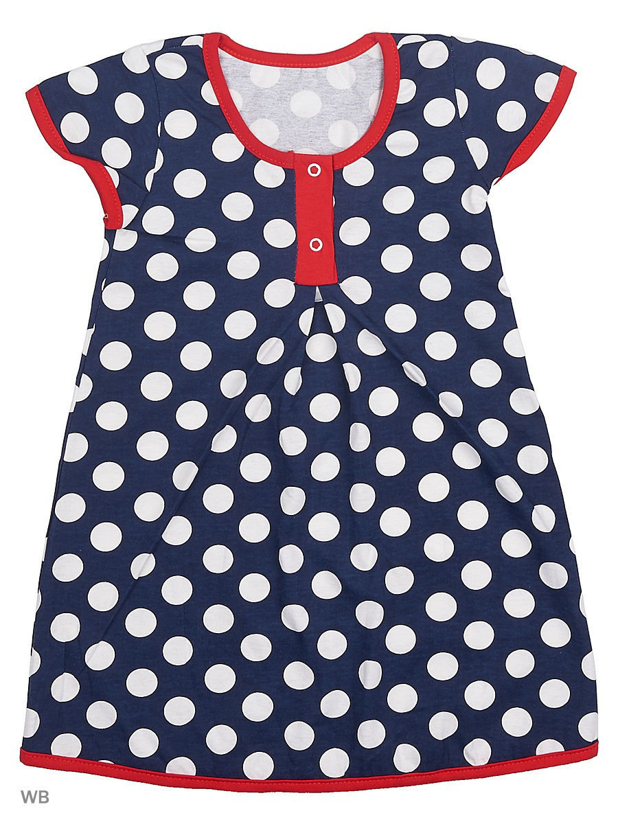 Платье Babycollection 17MAL-805/d/синий,белый