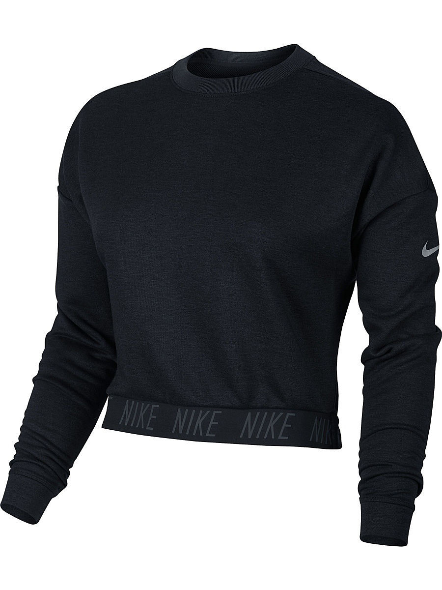 Свитшоты Nike Свитшот W NK DRY CREW LS свитшоты nike свитшот dri fit training crew gfx