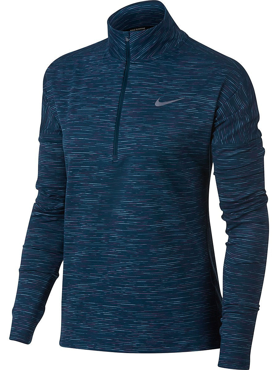 Лонгслив Nike Лонгслив W NK DRY ELMNT TOP HZ RADIANT лонгслив nike лонгслив m nk dry elmnt top hz