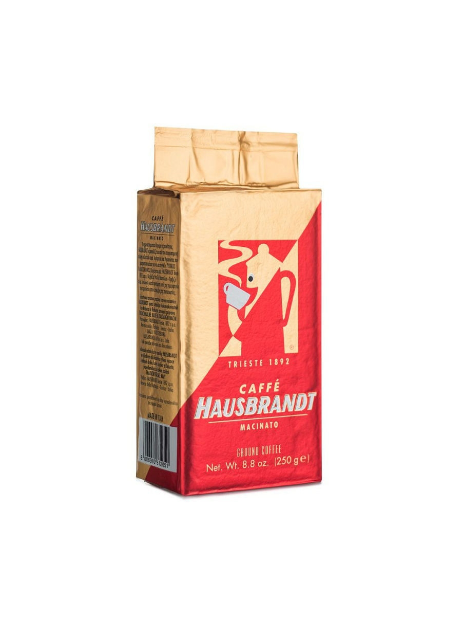 Кофе молотый Россо, вакуумная упаковка (Espresso Rosso, ground, valve bag)