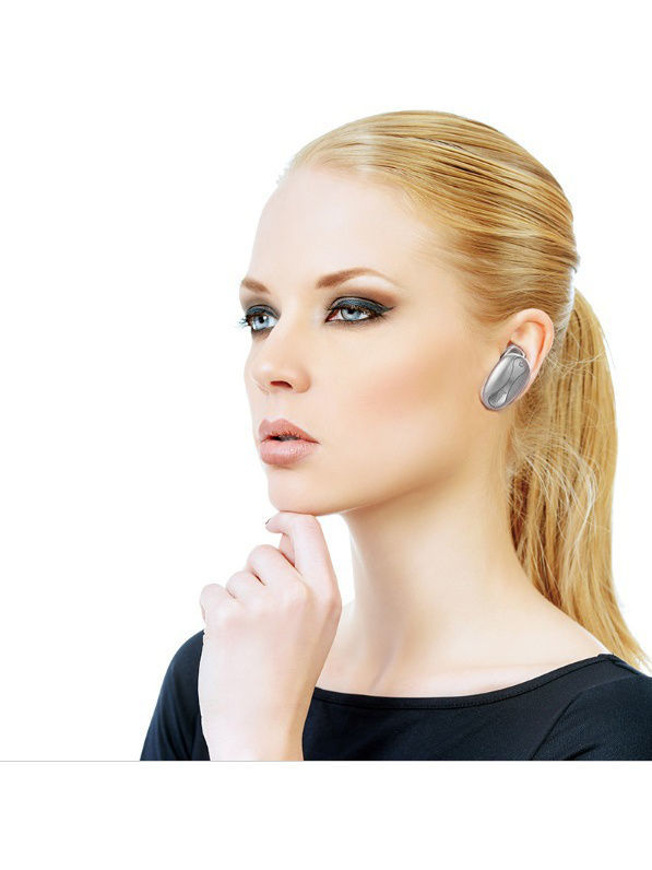 Гарнитуры Hoco Bluetooth-гарнитура HOCO E12 Grey гарнитура devia smart bluetooth 4 1 headset white