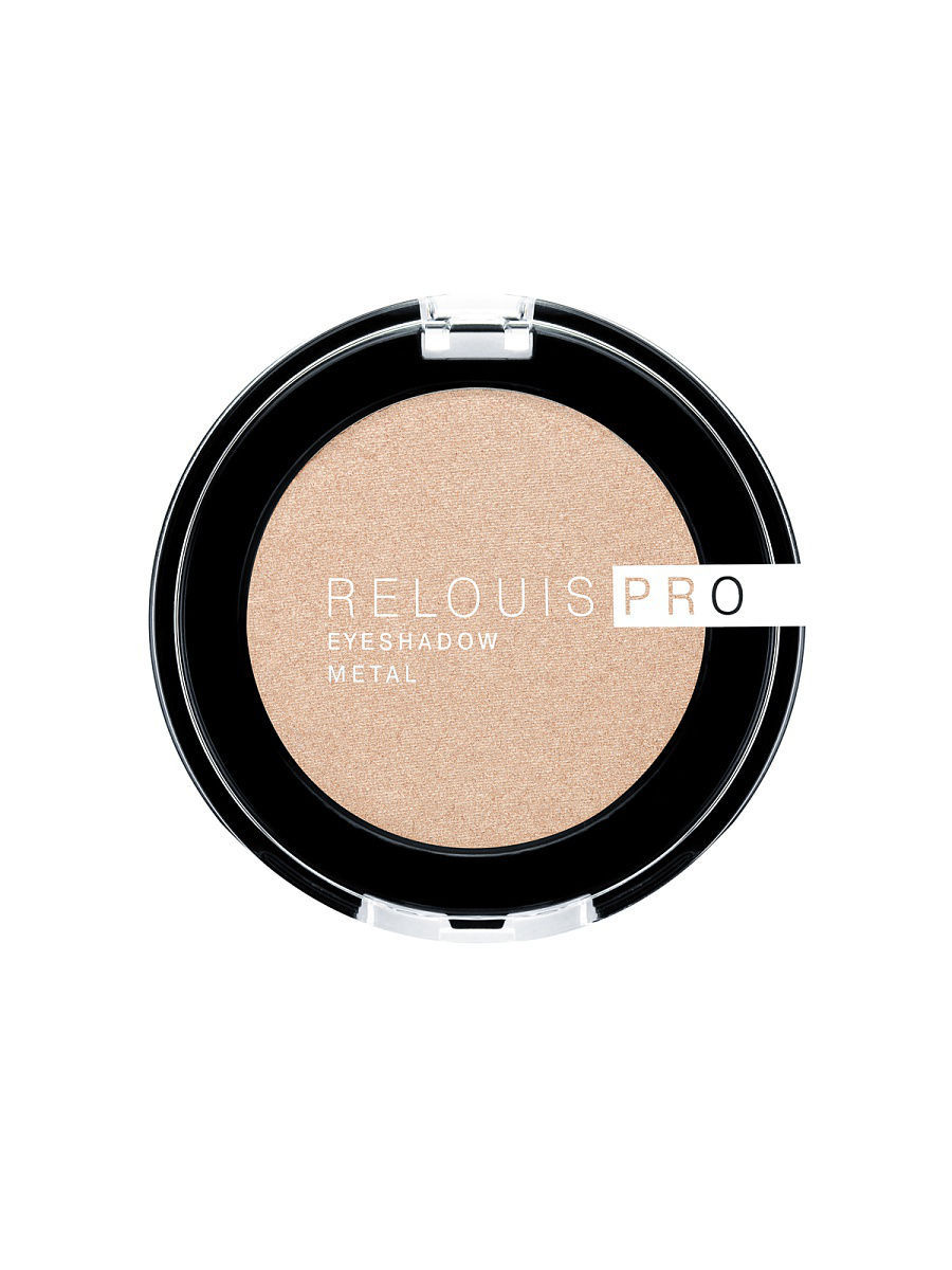 Тени для век RELOUIS PRO EYESHADOW METAL  тон:53, OH MY GOLD!