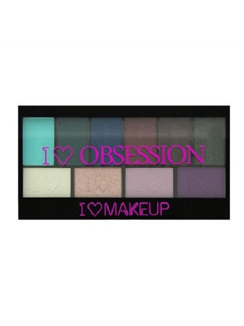 Тени MakeUp Revolution Палетка теней I Heart Makeup Obsession Palette Wild is the Wind straight knife tool the outdoor one doomsday boar claws scorpion claw knife lifesaving claw knife