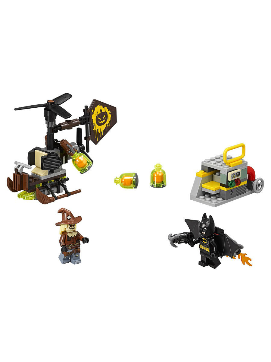 Конструкторы Lego LEGO Batman Movie Схватка с Пугалом 70913 конструкторы lego lego атака глиноликого 70904 batman movie