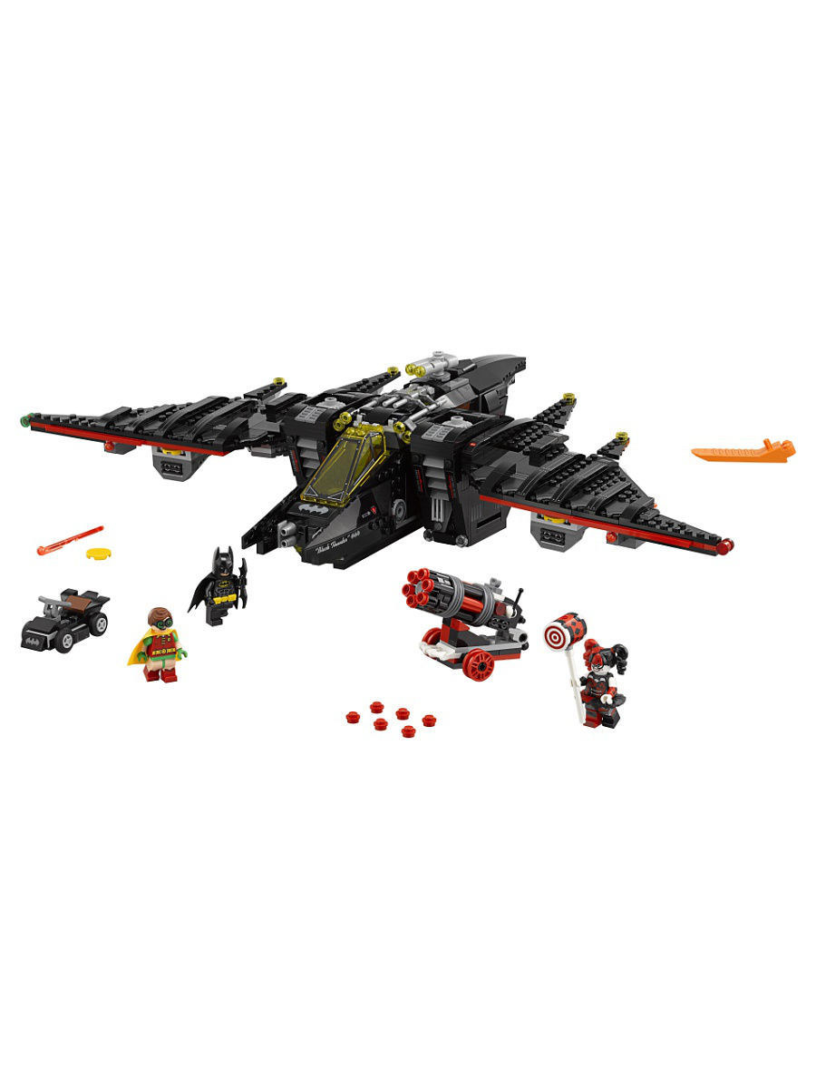 Конструкторы Lego LEGO Batman Movie Бэтмолёт 70916 конструкторы lego lego атака глиноликого 70904 batman movie