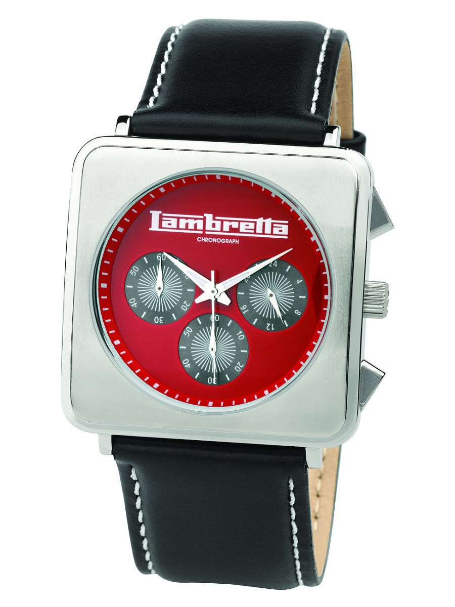 Часы наручные Lambretta Часы Lambretta Cassola leather chrono red
